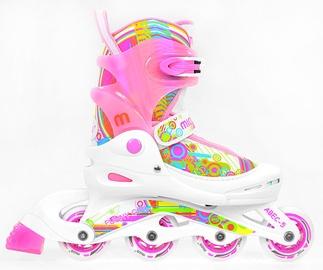 Ролики Mico Plus Funny Girl White/Pink, 34-37