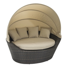 Диван Home4you Mini Muse With Canopy Dark Brown