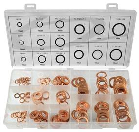 Geko Metric Copper Washer Assortment 150pcs