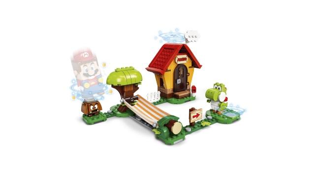 Конструктор LEGO Super Mario Mario's House & Yoshi Expansion Set 71367 71367, 205 шт.