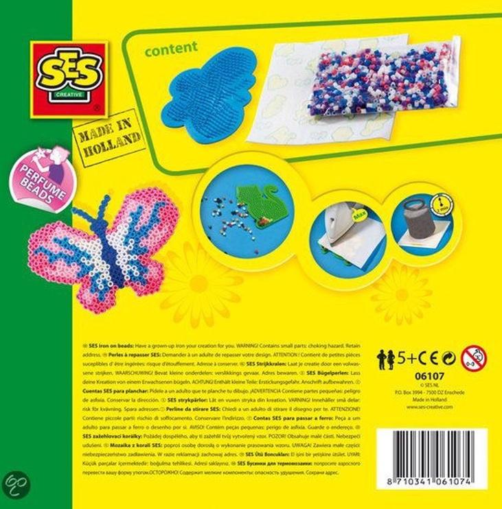 SES Creative Beedz Iron On Beads Butterfly 06107