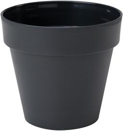 Puķu pods Form Plastic Ibiza Soft Mat 4120-014, melna