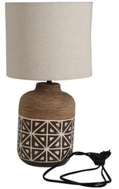 Gaismeklis Verners Misa Desk Lamp 60W E27 Wood/Brown