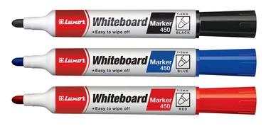 Baltās tāfeles marķieris Luxor White Board Marker 450 Black