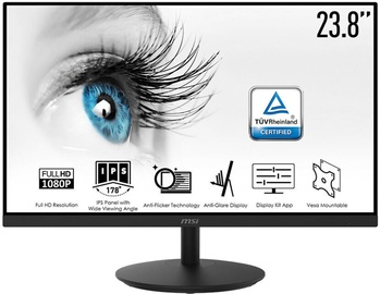 "Monitors MSI PRO MP242, 23.8"", 5 ms"
