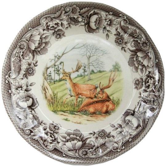 Claytan Haydon Grove Deer Dinner Plate 27.3cm