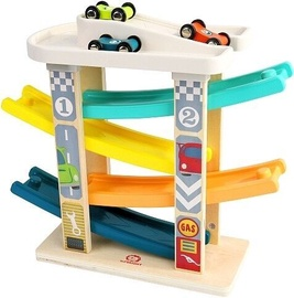 Автомобильная трасса Brimarex Wooden Ramp Racer 8144348