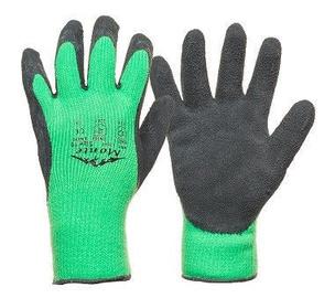 Darba cimdi Monte Gloves Knitted Warm Gloves Latex Non-Slip Coating 10