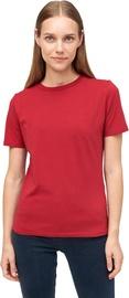 Audimas Womens Stretch Cotton T-shirt Rio Red S
