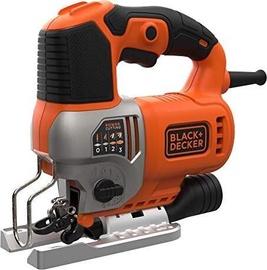 Elektriskais finierzāģis Black & Decker BES610K, 650 W