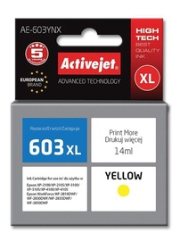 Activejet Ink Cartridge For Epson Yellow AE-603