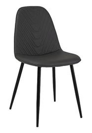 Стул для столовой Signal Meble Teo Black Steel/Grey, 1 шт.