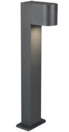 Trio Roya antracīta stabs / gaismeklis 50 cm augsts, IP44, 1x GU10