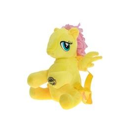 Mīksta rotaļlieta My Little Pony Plush Horse-Backpack Yellow