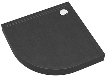 Vento Shower Tray 800x120x800mm Anthracite