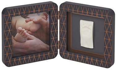 Baby Art Print Frame My Baby Touch Copper Edition Dark