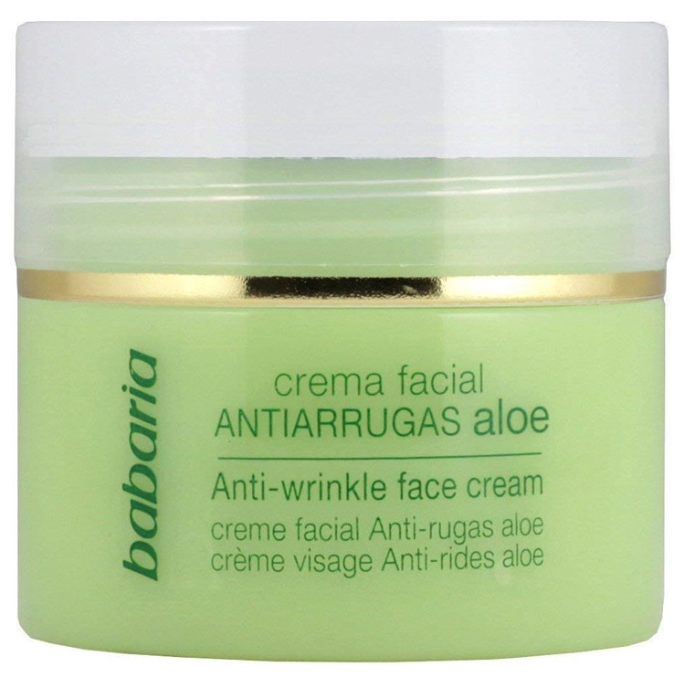 Крем для лица Babaria Aloe Vera Anti Wrinkle Face Cream, 50 мл