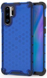 Hurtel Honeycomb Armor Back Case For Huawei P30 Pro Blue