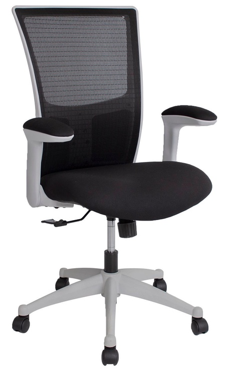 Biroja krēsls Home4you Lumina Gray/Black