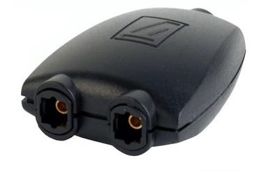 Gembird Adapter Toslink x2 / Toslink Black