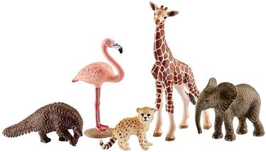 Фигурка-игрушка Schleich Assorted Wild Life Animals 42388