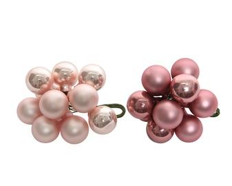 Ziemassvētku eglītes rotaļlieta Kaemingk 715113, rozā, 10 gab.