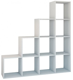 Top E Shop Shelf Unit Step RS-40 White