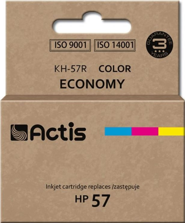 Actis Cartridge KH-57R For HP 21ml Multicolor