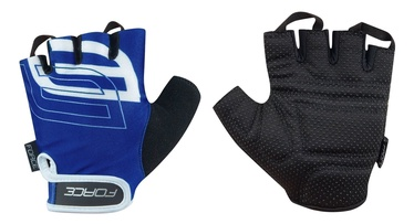 Force Sport Short Gloves Blue/Black M