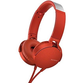 Наушники Sony MDRXB550APB.CE7 Red