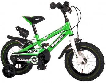 Детский велосипед Volare Kawasaki 81230, зеленый, 12″