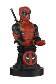 Exquisite Gaming Cable Guys: Marvel Deadpool Phone And Controller Holder Incl. Type-C Cable