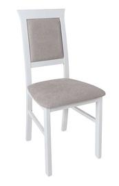 Ēdamistabas krēsls Black Red White Allanis 2 White/Grey, 1 gab.
