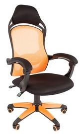 Spēļu krēsls Chairman Game 12, melna/oranža