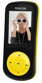 Mūzikas atskaņotājs Sencor SFP 5870BYL Yellow, 8 GB