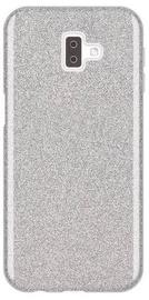 Wozinsky Glitter Shining Back Case For Samsung Galaxy J6 Plus Silver