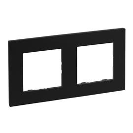 Legrand Niloe Step 863592 2-Socket Frame Black
