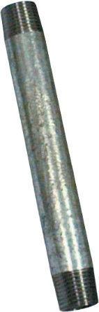 "Raccorfer Steel Short Thread Zinc 1"" 150mm"