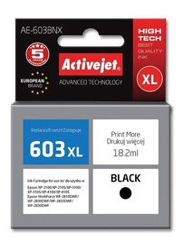 Activejet Ink Cartridge For Epson Black AE-603