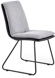 Ēdamistabas krēsls Halmar K326 Black/Grey, 1 gab.