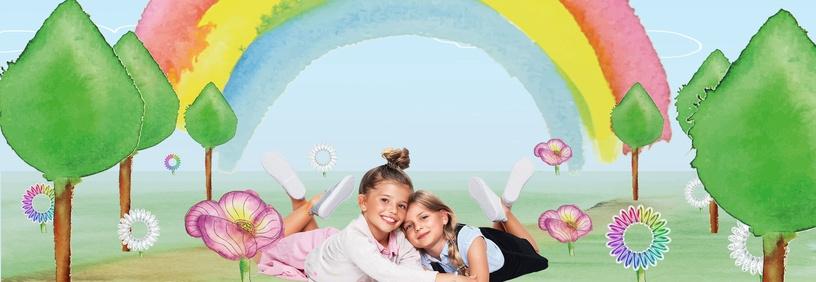 Invisibobble Kids Hair Rings 3pcs Magic Rainbow