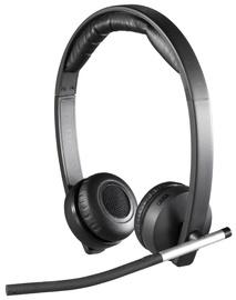 Austiņas Logitech H820E Black, bezvadu