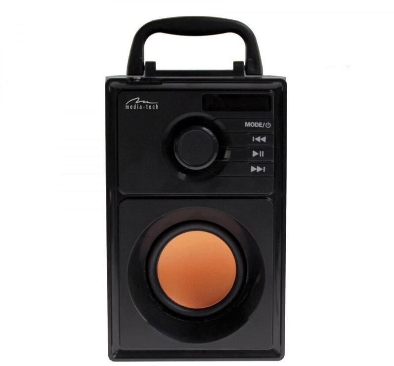 Bezvadu skaļrunis Media-Tech NT3145 V2.0, melna, 15 W