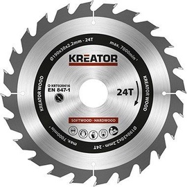 Kreator Sawblade 190x30x2.2mm 24T