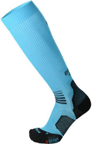 Mico Long Light Running Sock Oxi-Jet Blue 44-46
