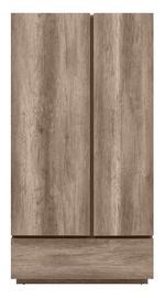 Skapis Black Red White Anticca 2D1S Monument Oak, 108x61.5x205.5 cm