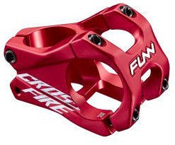 Funn Crossfire Stem 31.8 Red