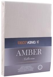 DecoKing Amber Bedsheet 140-160x200 Cream