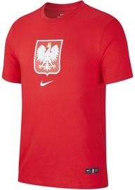 Nike Poland Tee Evergreen Crest CU9191 611 Red M