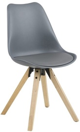 Home4you Chair Dima 44x42x85cm Gray